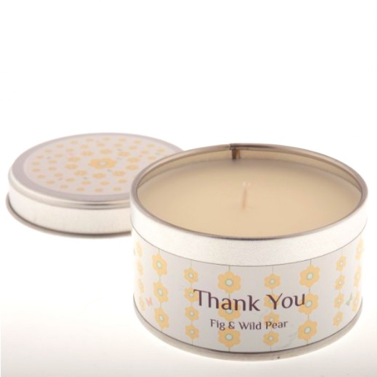 How to write a thank you note for a candle