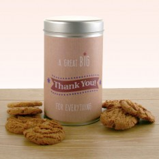Hampers and Gifts to the UK - Send the Gift In A Tin - A Great Big Thank You