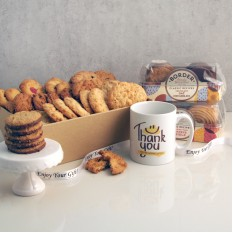 Hampers and Gifts to the UK - Send the Biscuit Favourites Hamper - THANK YOU
