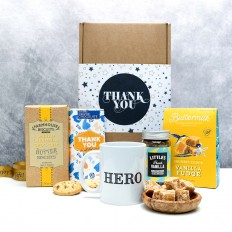 Hampers and Gifts to the UK - Send the Thank You Hero Hamper