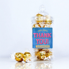 Hampers and Gifts to the UK - Send the Thank You Lindt Lindor Sweet Treats