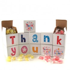 Hampers and Gifts to the UK - Send the Thank You Sweet Words