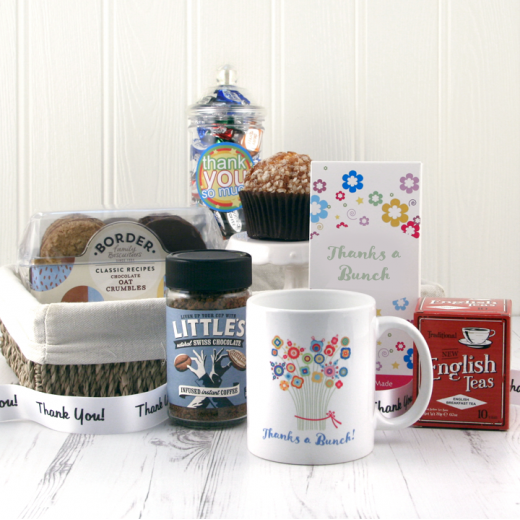 Hampers and Gifts to the UK - Send the Thanks A Bunch Gift Basket
