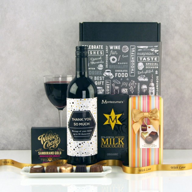 Hampers and Gifts to the UK - Send the You're A Star Thank You Gift Box