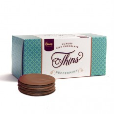 Hampers and Gifts to the UK - Send the Peppermint Milk Chocolate Thins