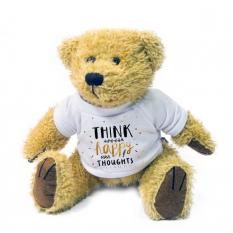 Hampers and Gifts to the UK - Send the Think Happy Thoughts Bear