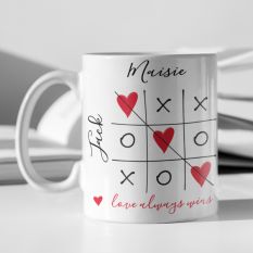 Hampers and Gifts to the UK - Send the Love Always Wins Personalised Mug