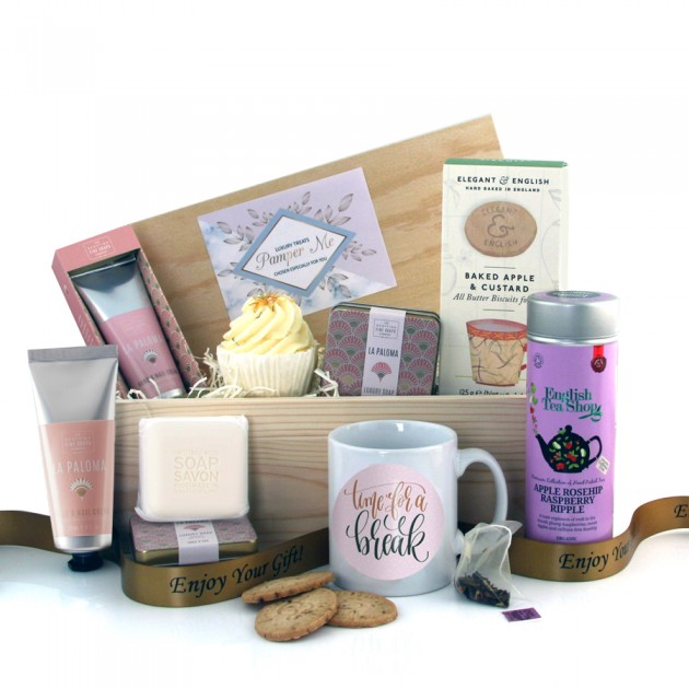 Hampers and Gifts to the UK - Send the Time for A Break Pamper Hamper