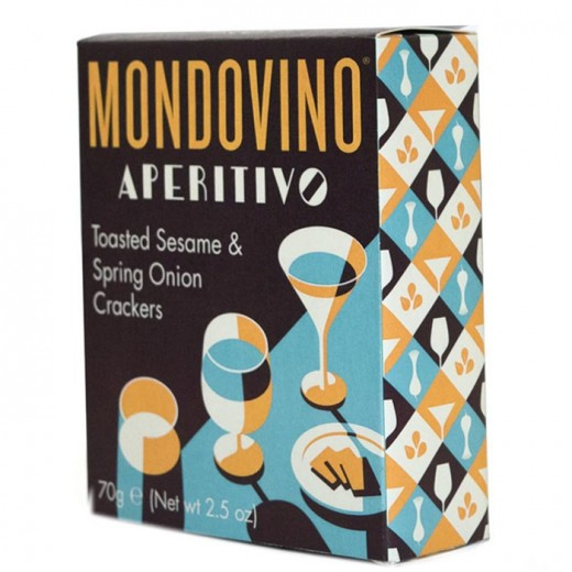 Hampers and Gifts to the UK - Send the Mondovino Creme Fraiche Savoury Crackers