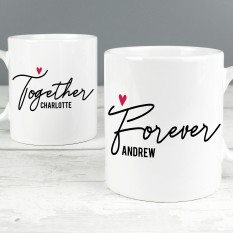 Hampers and Gifts to the UK - Send the Together Forever Mug Set
