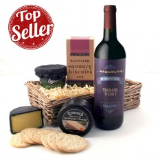 A Very Big Thank You Cheese and Hamper Gift Basket