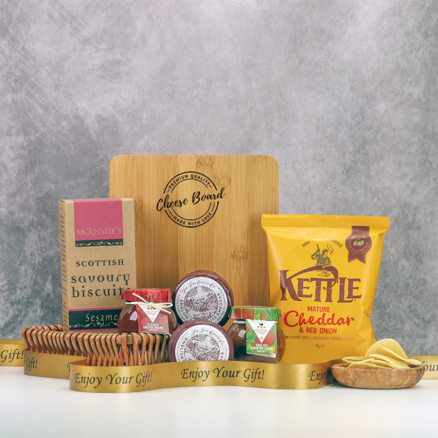 Hampers and Gifts to the UK - Send the Little Tray of Cheese
