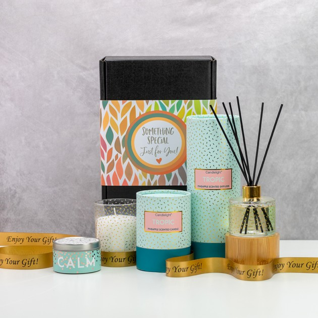 Hampers and Gifts to the UK - Send the Tropical Escape Gift Set