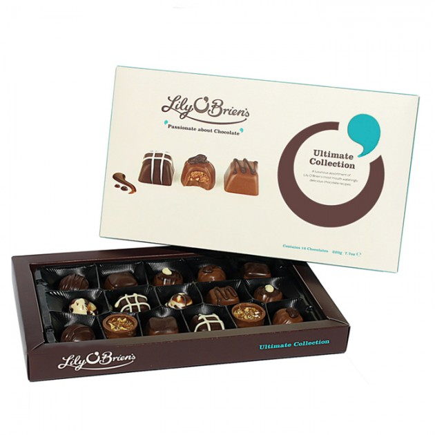Hampers and Gifts to the UK - Send the Lily O'Brien's Ultimate Chocolate Collection