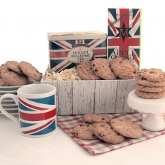 Hampers and Gifts to the UK - Send the The Great British Tray of Treats