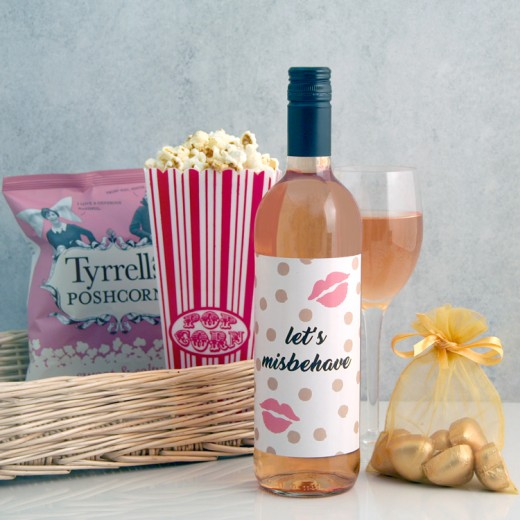 Hampers and Gifts to the UK - Send the Let's Misbehave Gift Basket
