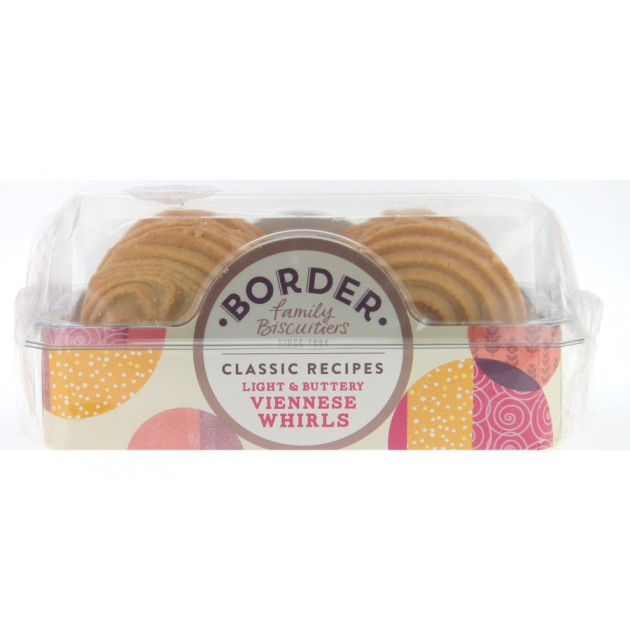 Hampers and Gifts to the UK - Send the Border Biscuits - Viennese Whirls