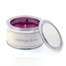 Hampers and Gifts to the UK - Send the Pintail Candles - Vintage Rose