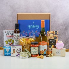 Hampers and Gifts to the UK - Send the Happy Birthday Box of Treats for Her