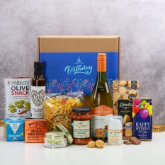 Hampers and Gifts to the UK - Send the Luxury Birthday Hamper for Him