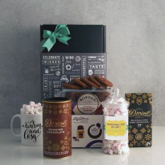 Hampers and Gifts to the UK - Send the Warm and Cosy Chocolate Treat