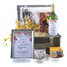 Hampers and Gifts to the UK - Send the Wedded Bliss Luxury Gift Hamper