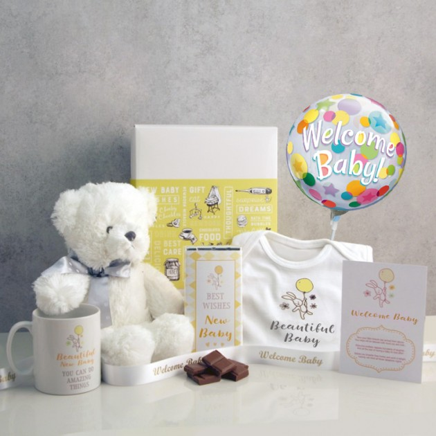 Hampers and Gifts to the UK - Send the Welcome Baby Hamper