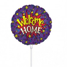 Hampers and Gifts to the UK - Send the Welcome Home Mini Balloon