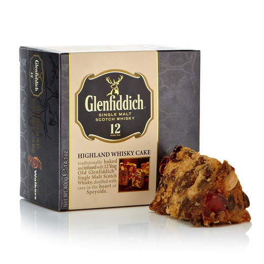 Hampers and Gifts to the UK - Send the Glenfiddich Whisky Cake - * OUT OF STOCK *