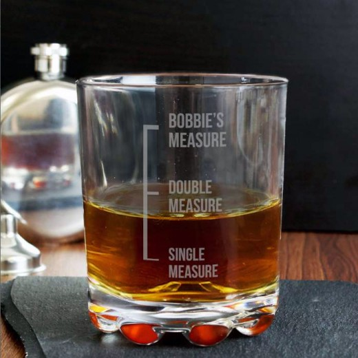 Hampers and Gifts to the UK - Send the Whisky Measures Tumbler