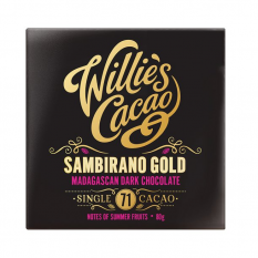 Hampers and Gifts to the UK - Send the Willie's Cacao Sambirano Gold Dark Chocolate Bar