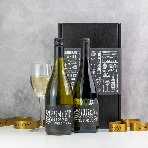 Hampers and Gifts to the UK - Send the Australian Wine Duo