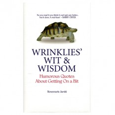 Hampers and Gifts to the UK - Send the * OUT OF STOCK * Wrinklies Wit & Wisdom Book