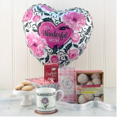 Hampers and Gifts to the UK - Send the A Wonderful Mum Gift Basket