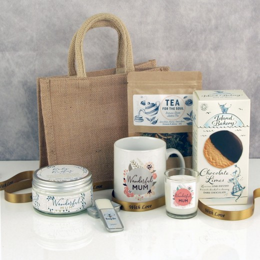 Hampers and Gifts to the UK - Send the Wonderful Mum's Body and Soul Pamper Gift