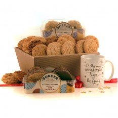 Hampers and Gifts to the UK - Send the It's The Most Wonderful Time Biscuit Hamper