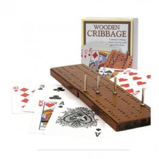 Hampers and Gifts to the UK - Send the Wooden Cribbage Game