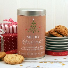 Hampers and Gifts to the UK - Send the Christmas Cookies Festive Tree
