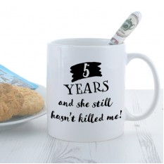 Hampers and Gifts to the UK - Send the Personalised Mug Years She Hasn't Killed Me