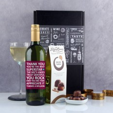 Hampers and Gifts to the UK - Send the You Rock Wine Gift
