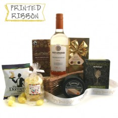 Hampers and Gifts to the UK - Send the San Andreas Food and Wine Hamper White