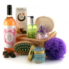 Hampers and Gifts to the UK - Send the You're Pretty Zesty Pamper Hamper