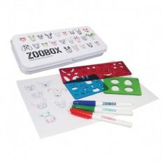Stencil and Pen Set - Zoobox