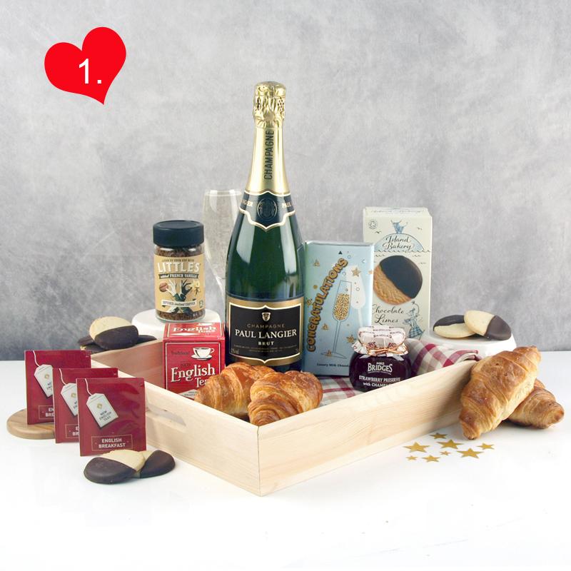 Champagne Celebration for a Romantic Occasion...