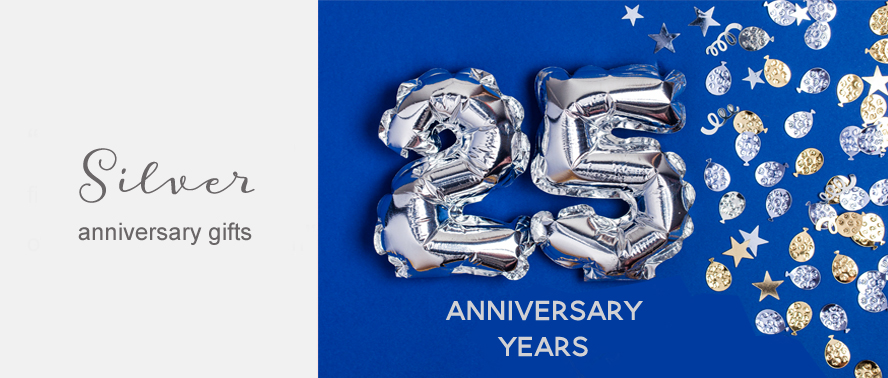 Silver Wedding Anniversary Gift Ideas for the 25th Year...