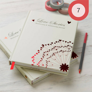 Lover Stories Note Book for Paper Anniversary