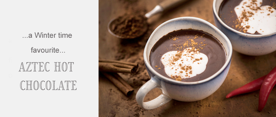 A Winter Warming Hot Chocolate Recipe.... Aztec Hot Chocolate with Chillies...