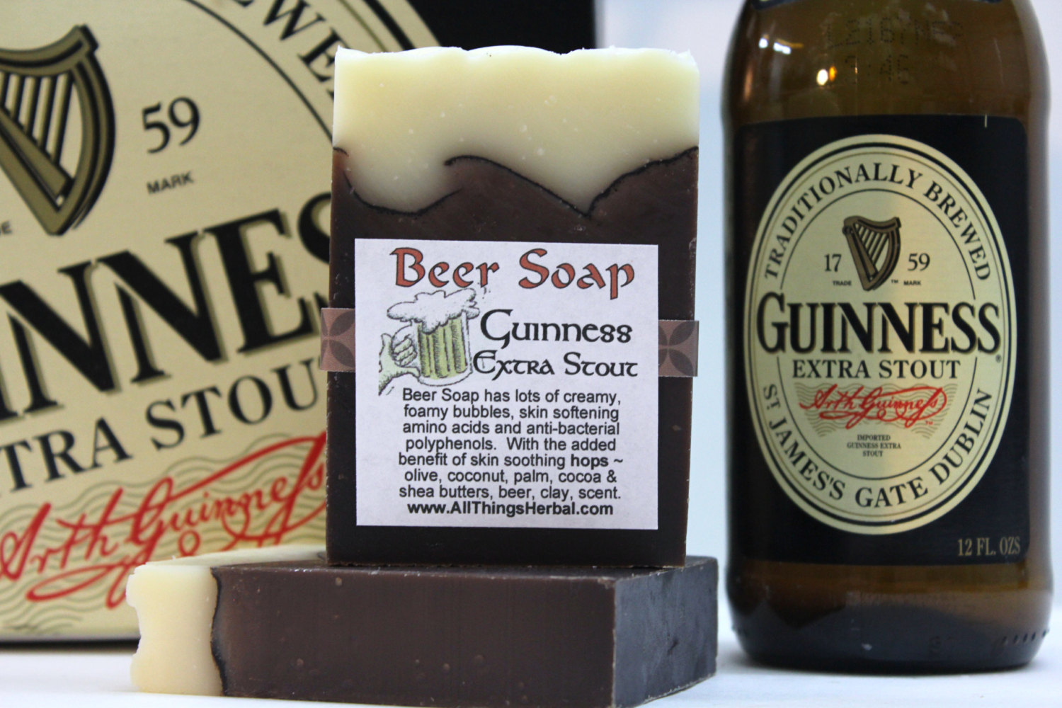 Beer Soap - Guinness to get you into a beer lather!