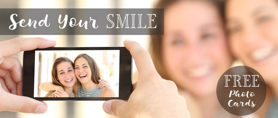 Free Personalised Photo Card to Send With Your Gitt...
