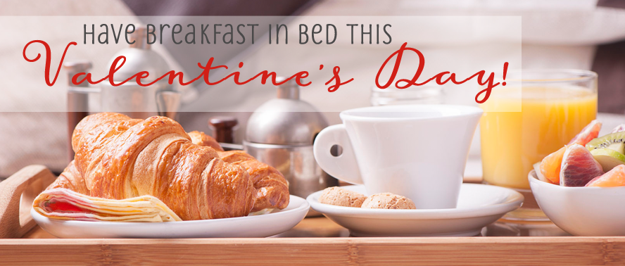 Breakfast In Bed Celebration Gift Ideas for Valentines Day